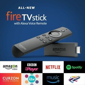 All New Amazon Fire TV Stick with Alexa Voice Remote Streaming Media Player