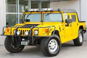 2001 AM General Hummer 4-PASSENGER OPEN 2001 AM General Hummer 4-PASSENGER OPEN 25306 Miles Competition Yellow Convertib