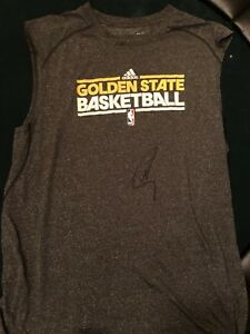 Stephen Curry Signed Auto Golden State Warriors Rookie Game Used Shooting Shirt