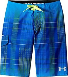 Under Armour Kids Boys Fader Boardshorts(Big Kids)Ultra Blue Swimsuit Bottoms18