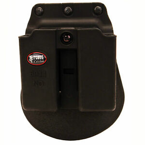 Fobus Double Mag Pouch For 9mm & .40 S&W Single Stack Magazines-6911NDP