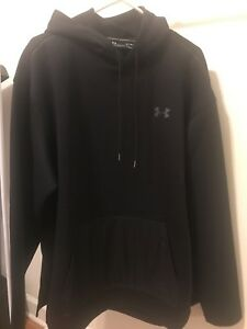 Under Armour Cold Gear Mens Black Hoodie. Size XL Brand New.