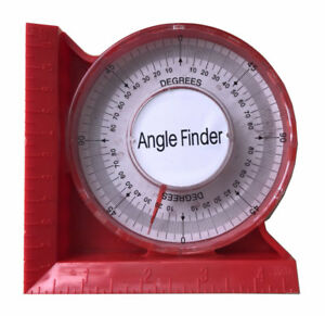 0 5quot; 120mm Magnetic Angle Locator Level amp; Tool Dial Gauge Angle Finder Magnetic $12.99