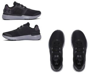 New Under Armour Boys BGS Micro G Fuel RN Black Sneakers Pick Size