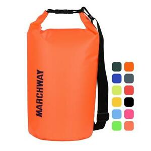 MARCHWAY Floating Waterproof Dry Bag 5L10L20L30L40L Roll Top Sack Keeps...