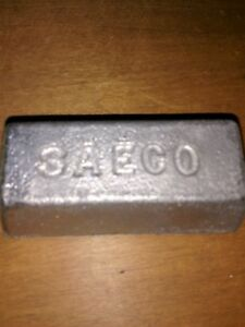 12.5 LB LEAD INGOTS FOR SINKERS JIG HEADS BULLETS  AND HOBBIES
