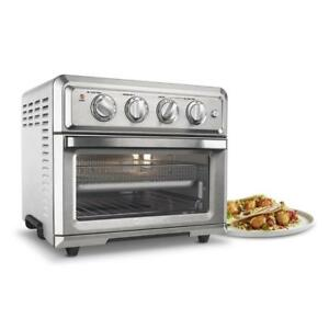 Cuisinart 1800W 0.6 Cu.Ft. Electric Air Fryer Toaster Oven Stainless Steel