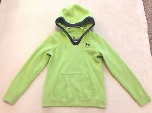 Under Armour Girl's Youth Storm Loose Hoodie Sweatshirt Size L Large
