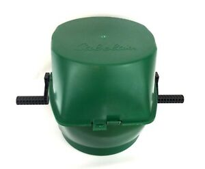 Cabela's Rotary Brass Media Separator Sifter Tumbler Green Locking Compartments