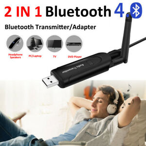 Mini USB Bluetooth Audio Transmitter Wireless Stereo Adapter for TV MP3 Headset
