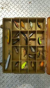 Double Sided Magum by Plano Tackle Box Full of 41 Fishing Lures