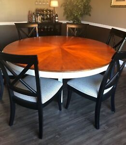 Beautiful Stanley Furniture Dining Room Table amp; 6 Chairs