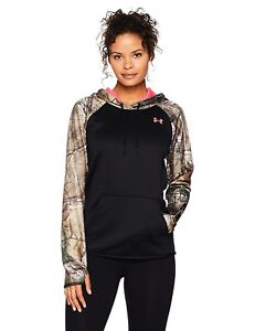 Under Armour Women's fleece camo blocked hoodie - Choose SZColor