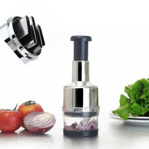 Home Kitchen Pressing Onion Garlic Vegetable Chopper Slicer Peeler Cutter Dicer
