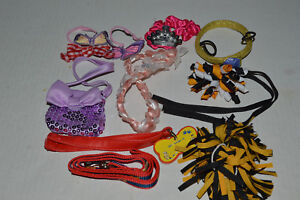 Build A Bear Clothing~Assortment Of Small Accessories~Collar Lease~Bows More~Q2