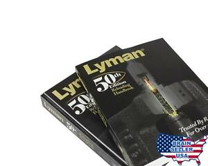 Lyman 50th Edition Reloading Manual Softcover Free Shipping New Free Ship
