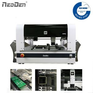 NeoDen PCB Assembly Machine NeoDen4 VIsion System 15 Feeders Auto Rails BGA 0201