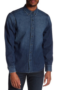 Joes Jeans Jimmy Denim Relaxed Fit Shirt L NWT $138 $43.00