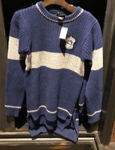 Universal Studios Harry Potter Ravenclaw Quidditch Lambwool Sweater Small
