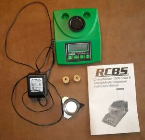 RCBS ChargeMaster 1500 Electronic Scale-120 VAC-(98920)