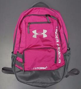 Under Armour UA Storm Hustle II Tropic PinkGraphite School Outdoor Backpack