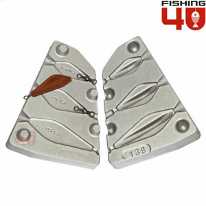 Tribolo lead fishing weight 25-40-60g fishing mould carp sea