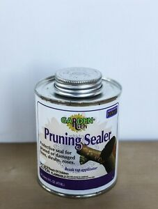 Tree sealer for wound cut economical black color with built in brush 16 oz $10.00
