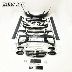PP S CLASS W222 body kit for W222 2017y~ S63 2018 body kits front bumpe grille
