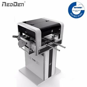 NeoDen4 SMT Pick and Place Machine Vision System 19 Feeders Auto Rails IC SMD