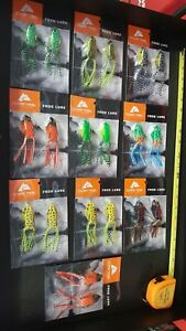 Ozark Trail Frog Lure Lot Of 20 Frog Fishing Lures