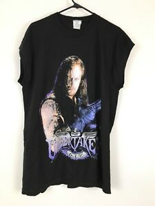 Vintage 1996 WWF WRESTLING UNDERTAKER XL TITAN SPORTS SLEEVELESS T-SHIRT NOS