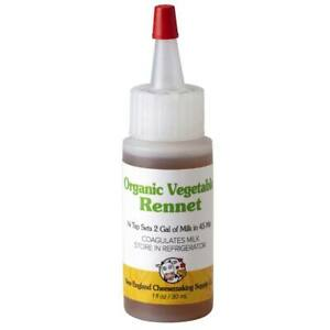 New England CheeseMaking Supplies - Organic Liquid Vegetable Rennet