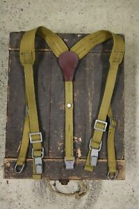 WW2 German Reproduction Tropical Y-straps Museum Quality Normandy and Eastern