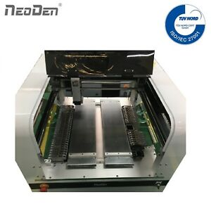 NeoDen4 SMT Pick and Place Machine Vision System 35 Feeders FPGA 0201