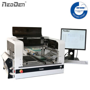 NeoDen4  Auto SMT Pick and Place Machine Works for 0201 BGA