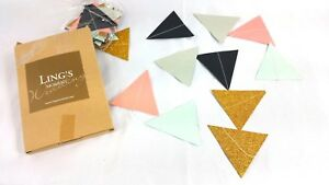 Triangle Flag Pennant Banner On String Bunting Decroration Party Wedding Baby