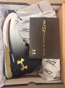 Under Armor UA Curry ONE MVP Sz 10 Black White not More Magic curry 4 Pack