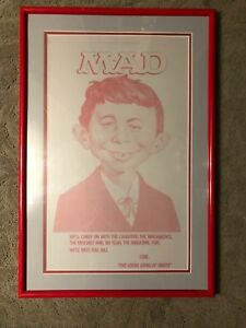 Mad Magazine Original Metal Plate used by NYT Obituary of Bill Gaines 6-10-1992