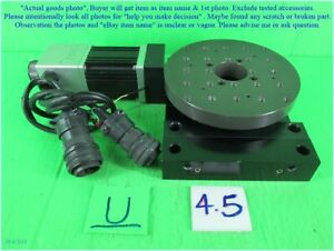 Aerotech BMS60ES13735 ART315 Tray Rotary Motor & BMS60 as photo sn:7A11 dφm