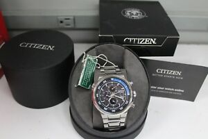Citizen Eco-drive Wr200 B612-s083125 Endeavor Chronograph Bracelet Watch