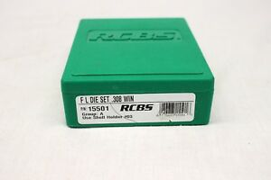 RCBS F L Die Set ~ .308 Win Caliber ~ Group A  Shell Holder #3 ~ Reloading Tool