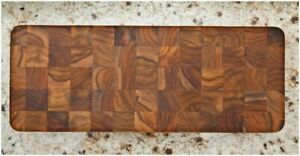 TeakHaus by Proteak End Grain Serving Cheese Board | 18