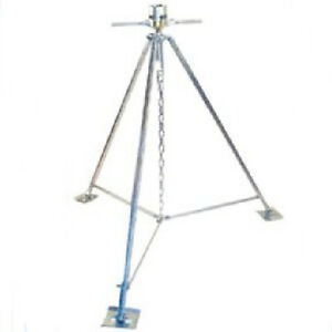 Fifth Wheel Aluminum Stabilizer RV Camping Trailer Adjustable Tripod Support New