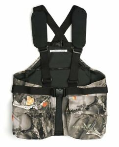 Lucky Bums Youth Turkey Vest  Recluse Camouflage One Size (Youth 6-14)
