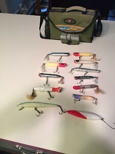 Tackle Box Full Of Vintage Surf Casting Lures