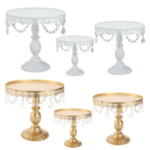 Cake Stand w Crystals 8