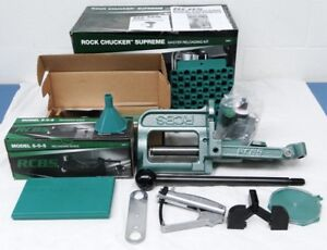 RCBS Rock Chucker Supreme Master Single Stage Reloading Press 09361 Box