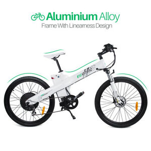 48V 1000W Electric City Bike Mountain Bicycle 13AH Lithium Battery Pedal-Assist