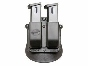 FOBUS DOUBLE MAGAZINE POUCH - PADDLE-STYLE 6900NDP