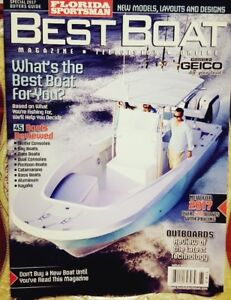 Florida Sportsman Best Boat Special 2017 Buyers Guide FREE SHIPPING CB $14.99